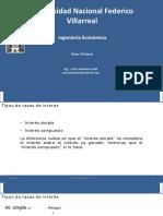 Ing Economica - S4 - Interes