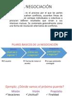 La Negociacion Diapositivas