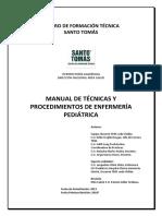 Manual de Técnicas y Procedimientos de Enfermería Pediátrica