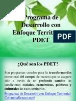 Socializacion PDET