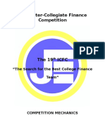 19th ICFC Rules & Mechanics-Elimination Round