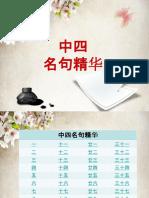 中四名句精华.pptx