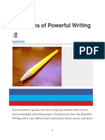 8 Qualities of Powerful Writing