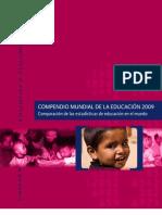COMPENDIO MUNDIAL DE LA EDUCACIÓN 2009
