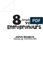 8 Simple Tips for Young Entrepreneurs by John Rodica Chapter 1-2