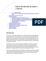 Principios Básicos Del Derecho de Autor y Los Derechos Conexos.docx Word