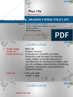 Module 1- Phys 13e Content Introduction Measurements
