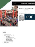 Estructura Urbana Del Barrio Chino