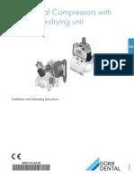 Installation Manual for Compressor Durr Dental Tornado 70