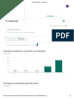 9a urrbrae feedback - google forms