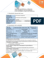 Guía y Rubrica de Evaluación - PFase 2. Construir El Estudio Financiero Del Proyecto