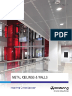 Uk Metal Ceilings Walls Brochure