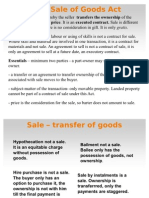 Presentation on Sale of Goods Act