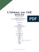 BRECHT - L'Opera Da Tre Soldi