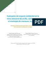 Estudio de Impacto Ambiental de una ladrillera