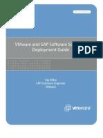 VMware SAP Software Solutions Deployment Guide