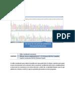 Analisis de Secuencias Nulcleotidicas
