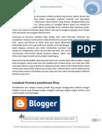 Modul Asas Membina Blog