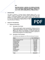 FPI-Disposal of Shares by FPM in AB