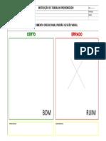 Modelo Procedimento Padrão CERTO ERRADO