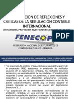 Posturas y Reflexiones Criticas Hacia Las NIIF y Demas Normas (1)