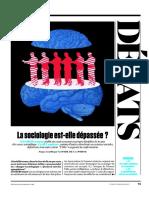 Gerard Bronner Cyril Lemieux La Sociologie est-elle Dépassée ? L'Obs 2017 09 258