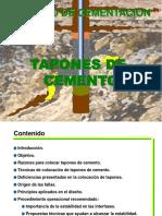 Capitulo Ix Tapones de Cemento