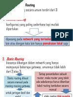 7 - Jenis Konfigurasi Routing