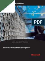 Vindicator Surveillances Radar