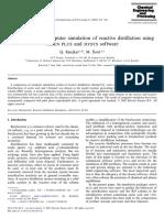 Comparison  of  computer  simulation  of  reactive  distillation  using.pdf