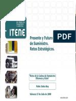 Presente y Futuro de La Cadena de Suministro Retos Estrategicos Itene