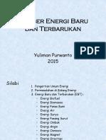 Yepe - Sumber Energi Baru Dan Terbarukan 2015-A