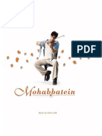 97441255-Mohabbatein-Violin-Sheet-Music.pdf