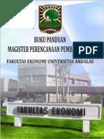 BUKU PANDUAN UNAND Program Magister Perencanaan Pembangunan