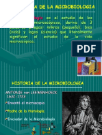 Historia Microbiologia