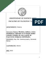2013 - Mestizos, ladinos y otros mediadores culturales en el mundo andino colonial. - Jurado y Molina_0.doc