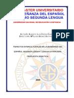 Aspectos Culturales en La Enseñanza Del Español Como Segunda Lengua (Propuesta Didáctica)