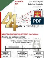 Enfoque de aplicación de NIIF en Venezuela