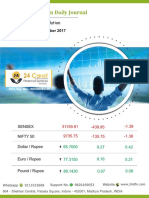 Derivative Premium Daily Journal 27th September 2017 Wednesday
