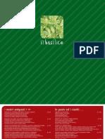 Menu il basilico