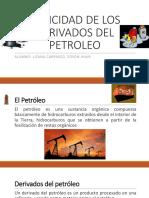 Toxicidad de Los Derivados Del Petroleo
