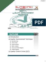 Unit 7a - Quality Improvement Technique.pdf