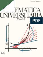 Matematica Universitaria Analisis