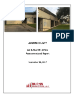 Austin Co - Jail & SO Assessment & Report