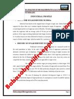 A PROJECT REPORT ON  FINANCIAL RATIO ANALYSIS OF SRI HALSIDHNATH S.S.K LTD NIPANI.pdf