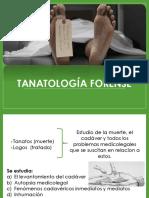 TANATOLOGÍA-FORENSE