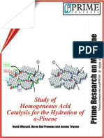 Wijayati Et Al 2012 Study of Homogeneous Acid Catalysis for the Hydration Alpha Pinene