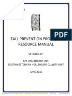Fall Prevention Program Resource Manual