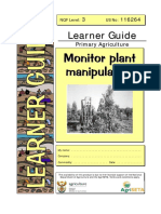 Monitor Plant Manipulation