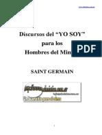 Amado Saint Germain - Discurso Yo Soy Para Los Hombres Del Minuto